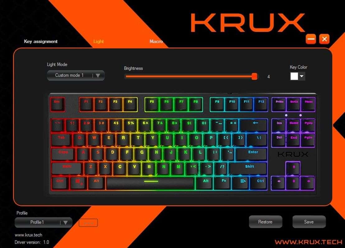 Test Krux Atax Pro RGB i Atax RGB. Dwie tanie klawiatury mechaniczne