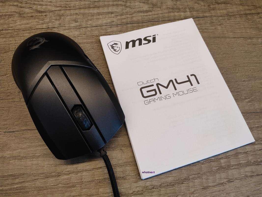 Test myszki MSI Clutch GM41 Lightweight