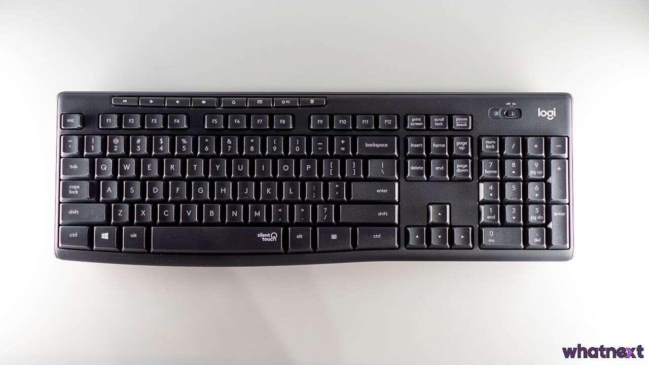 Test zestawu Logitech MK295, czyli cicha klawiatura i mysz
