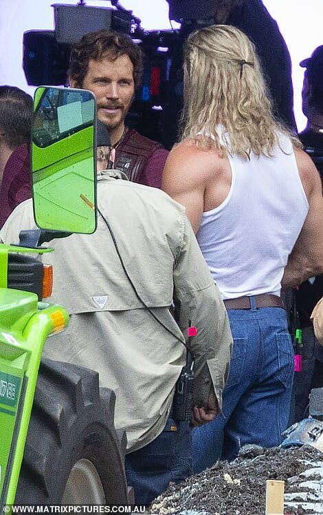 Thor: Love and Thunder, Chris hemsworth, Chris Pratt