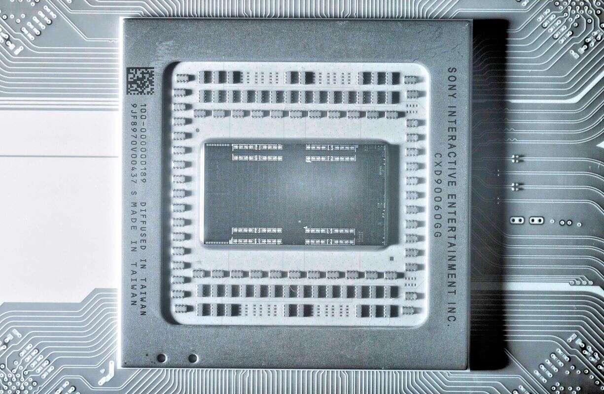 To napędza Sony PlayStation 5. Spójrzcie na zdjęcie całego układu SoC