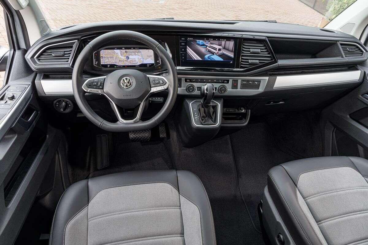 Volkswagen Multivan 6.1 jako samochód na pandemię
