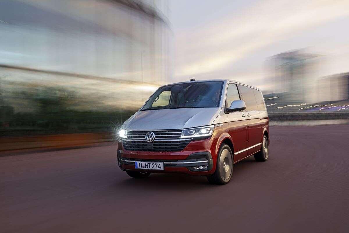 Volkswagen Multivan 6.1, samochód na pandemię