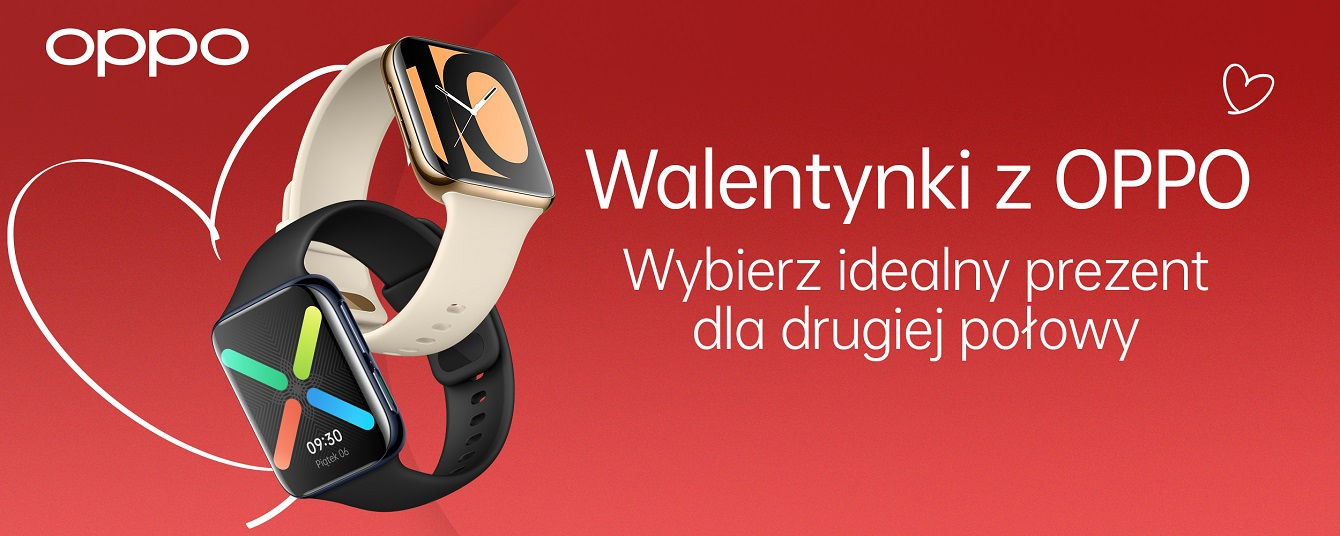 Walentynkowa promocja OPPO – smartfony i smartwatche w okazyjnych cenach