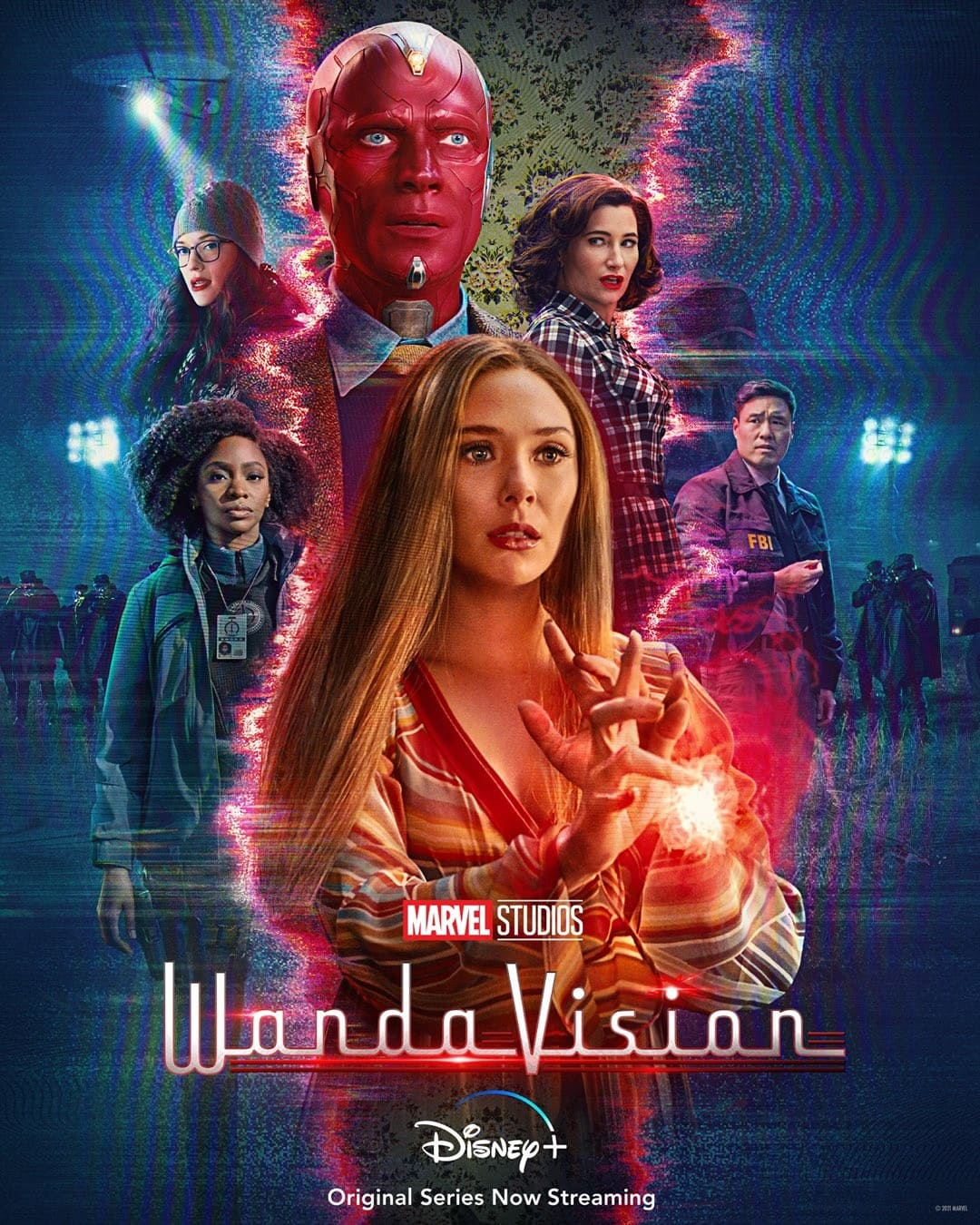 WandaVision, WandaVision plakat
