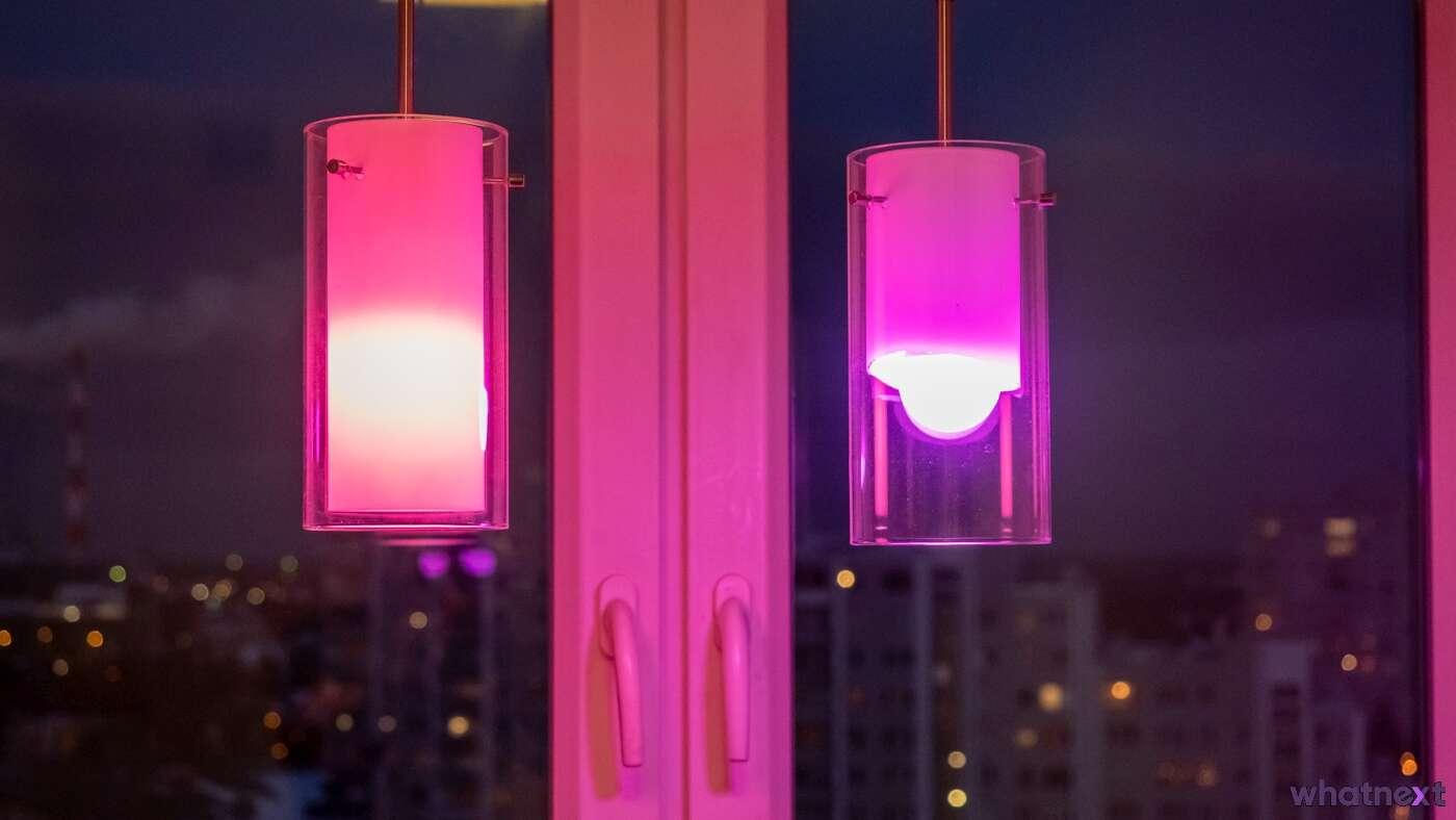Test żarówek WiZ - tani sposób na kolorowe oświetlenie