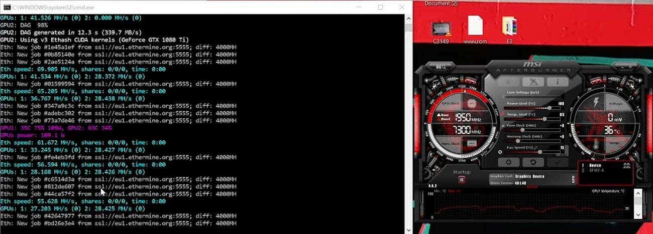 ZOTAC RTX 3060 kryptowaluty