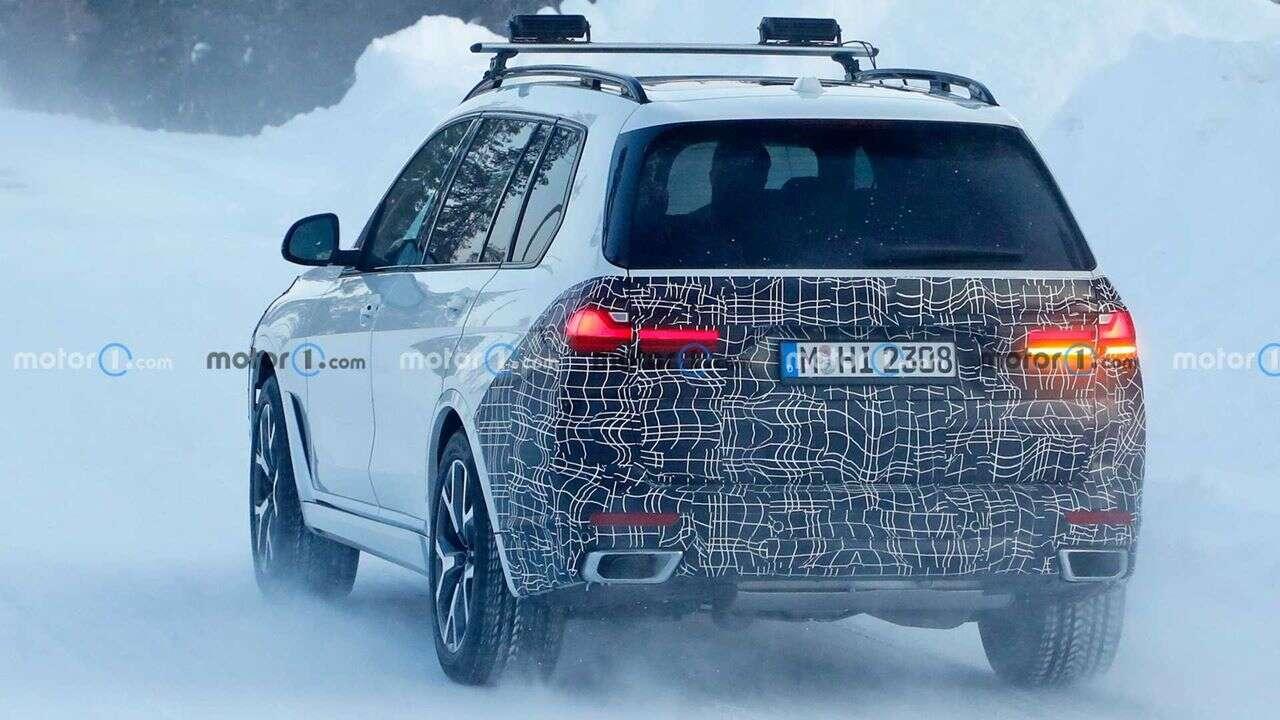 Zdjęcia nowego BMW X7, Zdjęcia BMW X7, nowe BMW X7