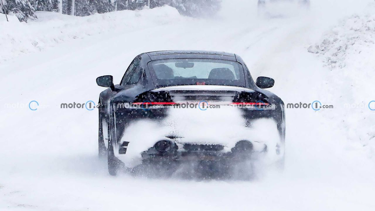 Zdjęcia Porsche 911 Safari