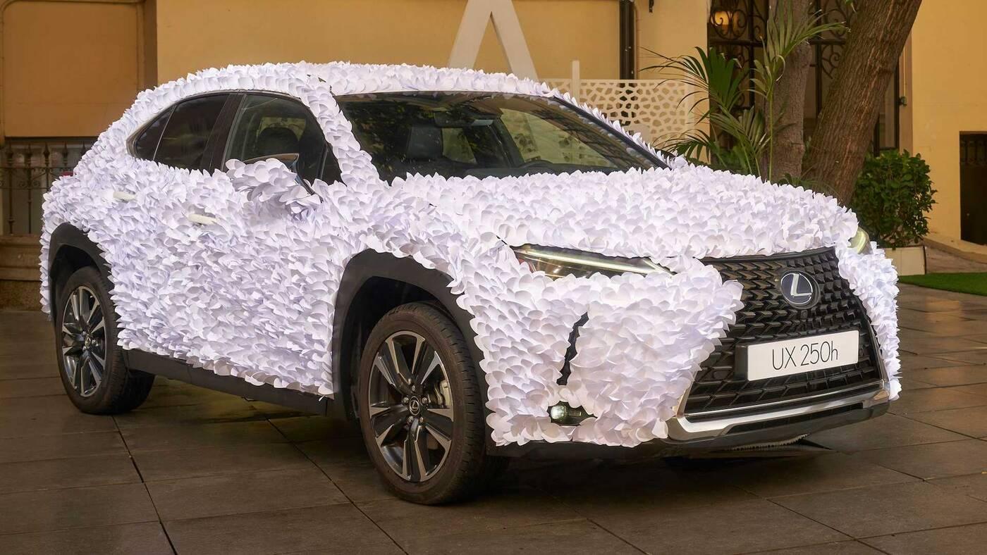 Zen Garden wygrał konkurs Lexus UX Art Car 2021