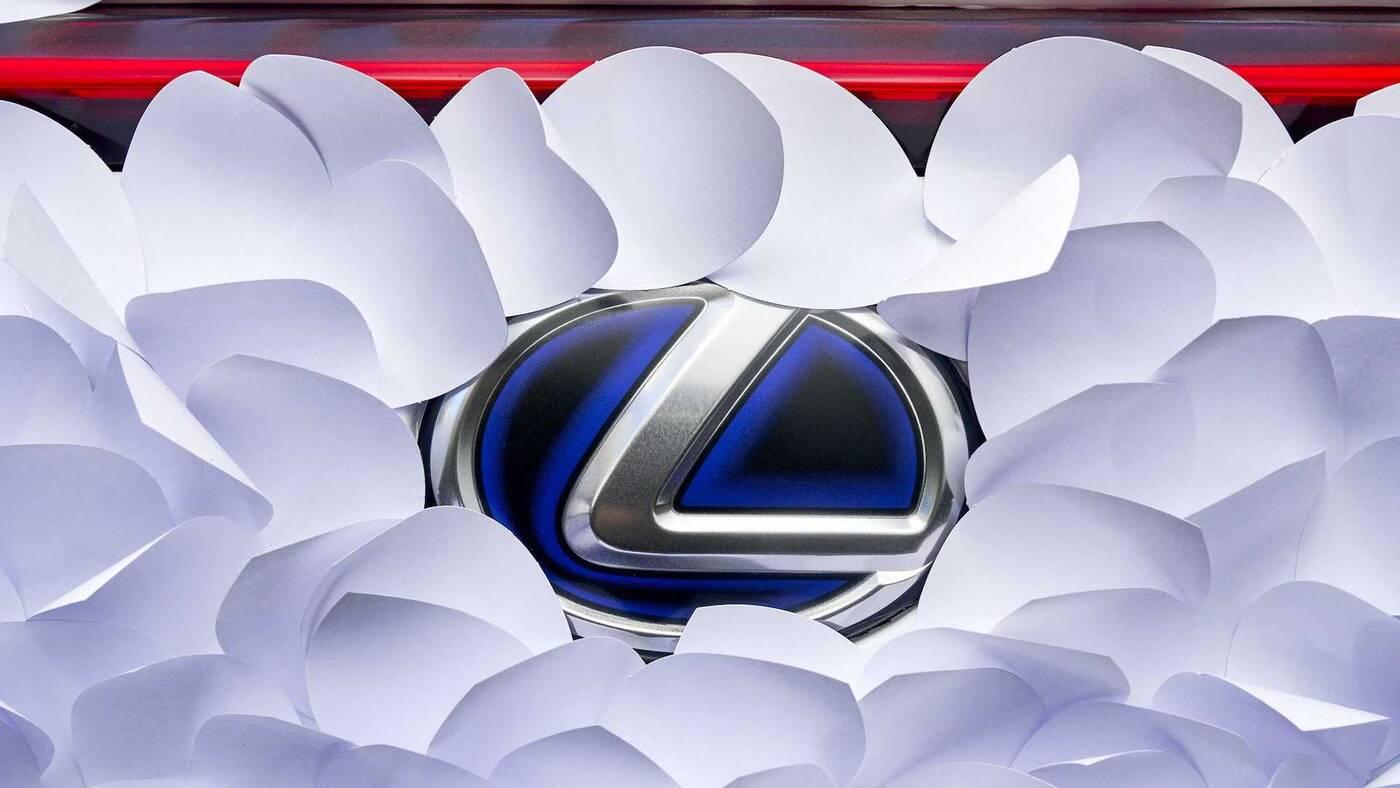 Zen Garden, konkurs Lexus UX Art Car 2021