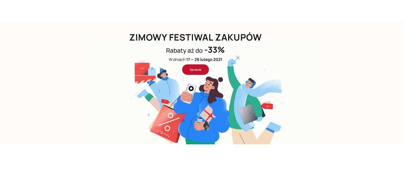 Zimowy Fesiwal Zakupów na huawei.pl