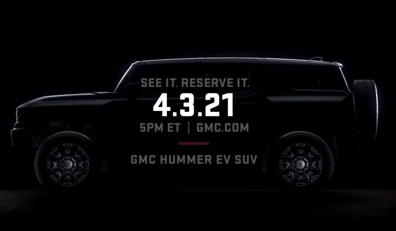 Elektryczny SUV Hummer od GMC