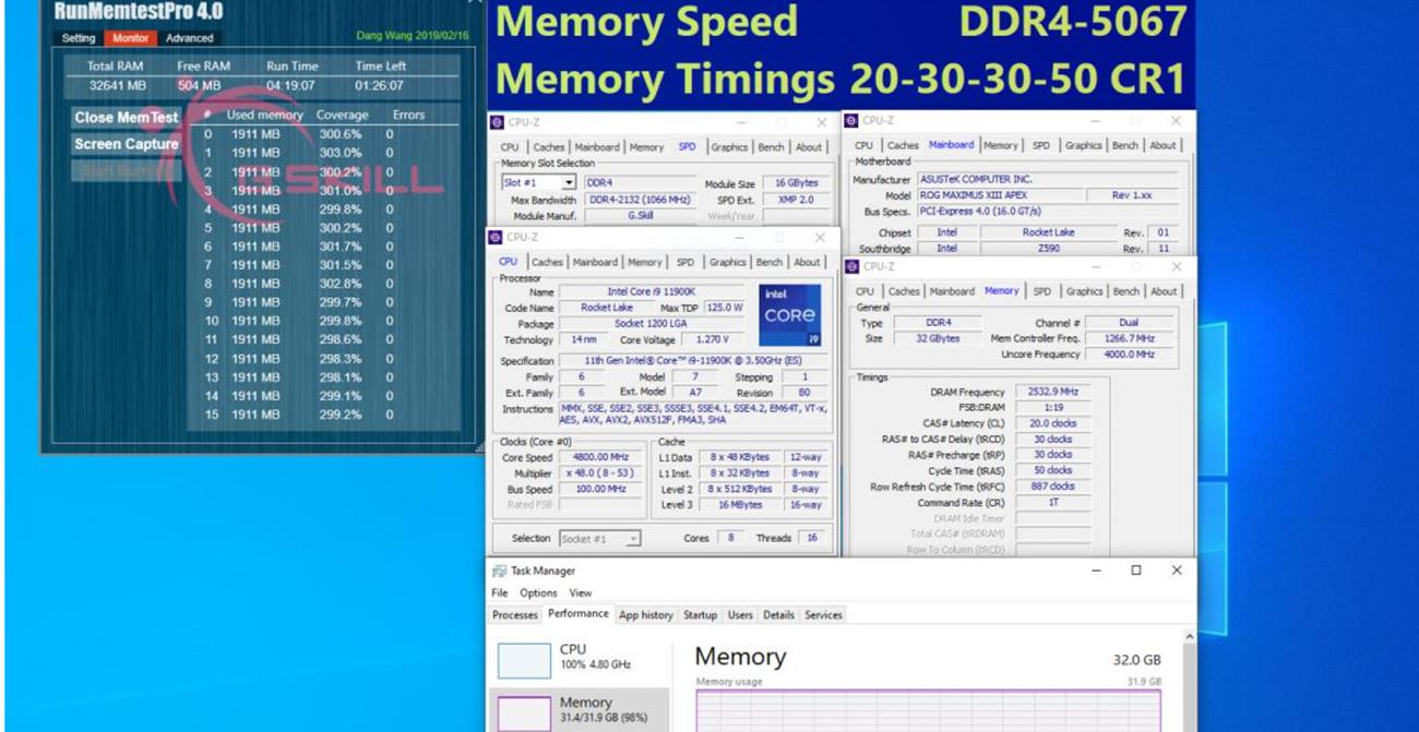 G.Skill pamięci Z590
