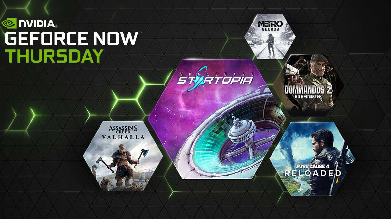 GeForce NOW nowe gry