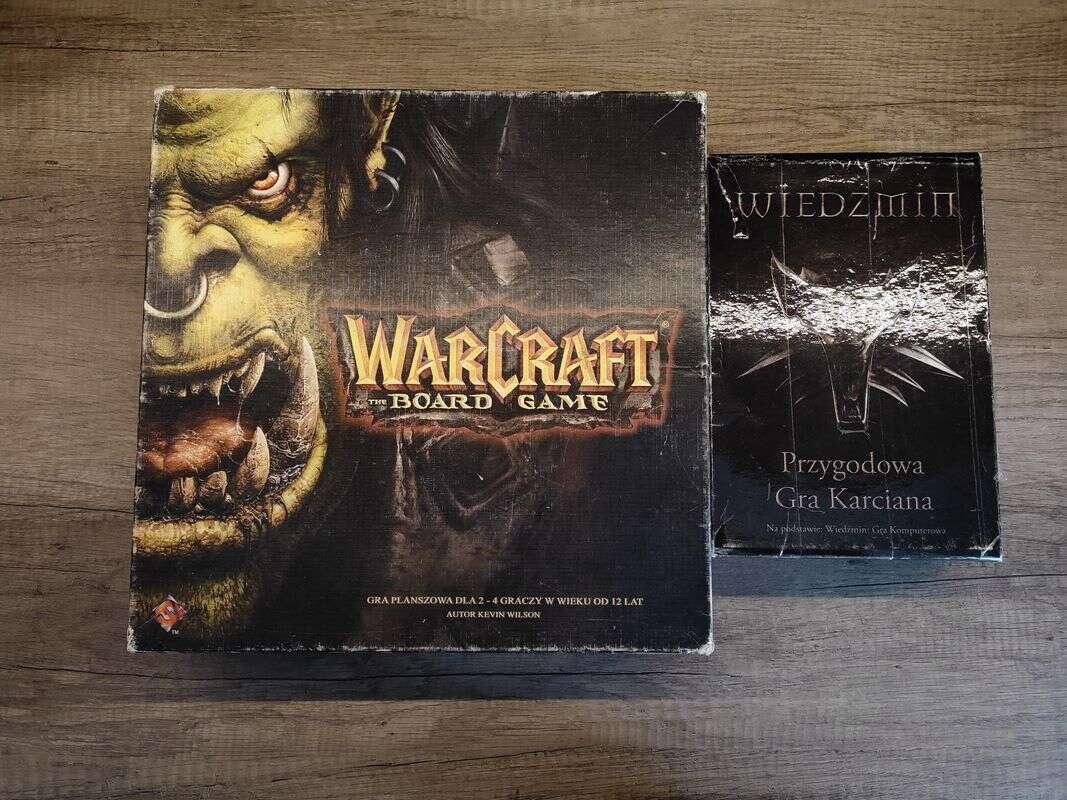 karcianka Wiedźmin, planszówka Warcraft,