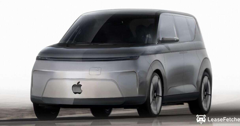 elektryczny samochód Apple, rendery elektryczny samochód Apple, wygląd samochodu APple