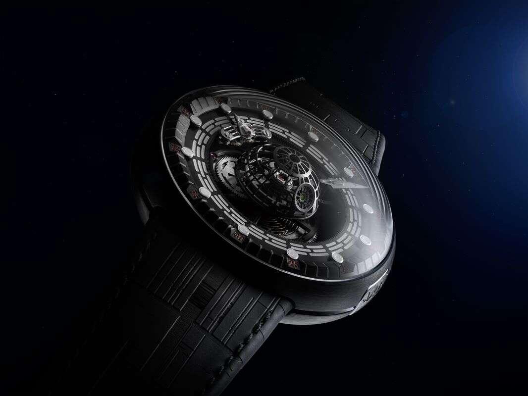 Zegarek dla zapaleńców Gwiezdnych Wojen, Gwiazda Śmierci, zegarek Death Star, Gwiazda Śmierci zegarek, zegarek Gwiezdne Wojny
