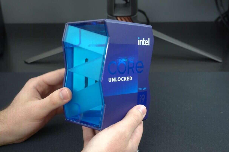 unboxing flagowego Intel Core i9-11900K, unboxing flagowego Intel Core