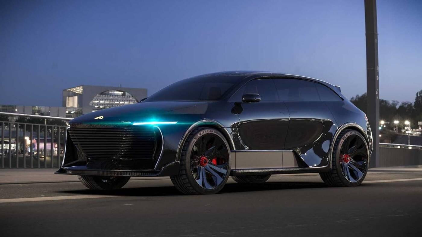 Oto Humble One z dachem słonecznym. Nowy gracz na rynku SUVów EV?