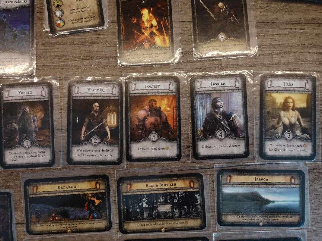 Pierwsza karcianka Wiedźmin i planszówka Warcraft, czyli powrót do przeszłości