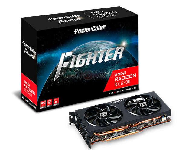 pamięć Radeon RX 6700, Radeon RX 6700, Fighter Radeon RX 6700, Radeon RX 6700 Fighter, Radeon RX 6700 6 GB