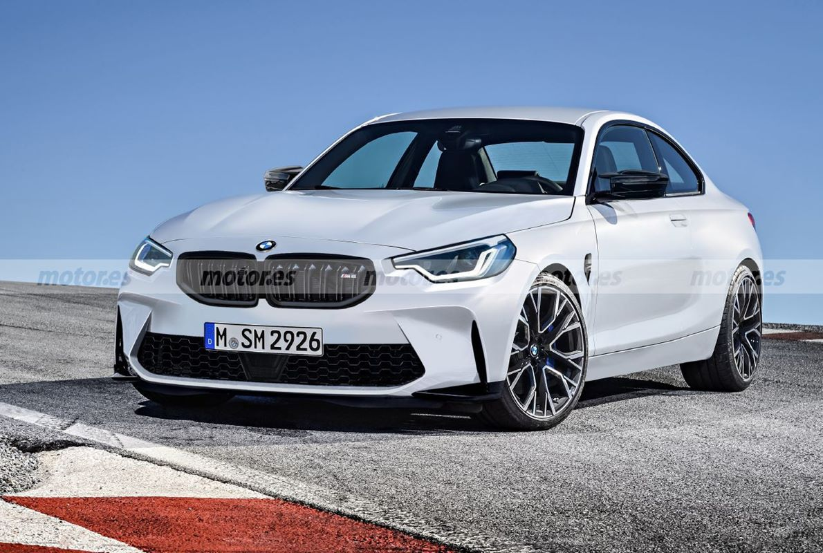 wygląd nowego BMW M2, BMW M2 nowej generacji, render BMW M2