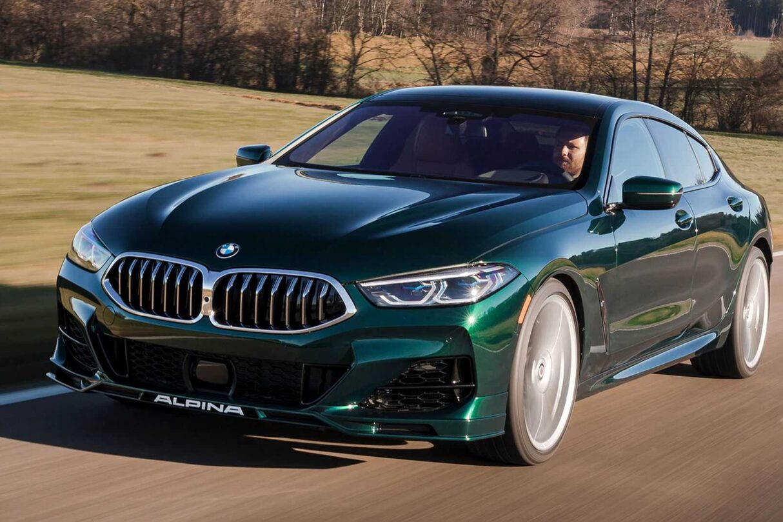 Premiera BMW Alpina B8 Gran Coupe 2022, Alpina B8 Gran Coupe 2022, B8 Gran Coupe 2022,