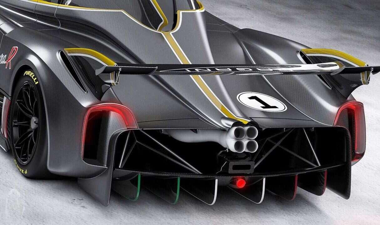 Premiera Pagani Huayra R, wyścigowa Huayra zachwycająca silnikiem, Pagani Huayra R, Huayra R,