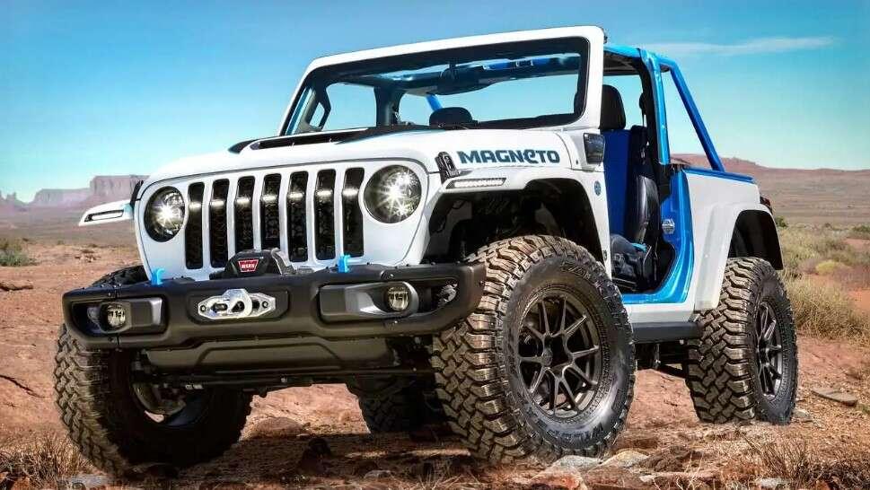Premiera elektrycznego Jeep Magneto Concept, podwaliny pod Jeepa BEV podłożone, Jeep Magneto Concept, Magneto Concept,