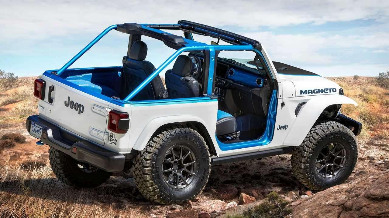Premiera elektrycznego Jeep Magneto Concept. Podwaliny pod Jeepa BEV podłożone