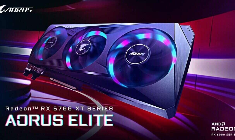 GPU RX 6700 XT Aorus Elite