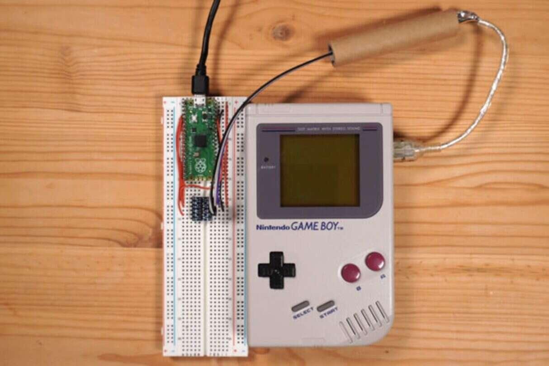 Game Boy kopie Bitcoiny