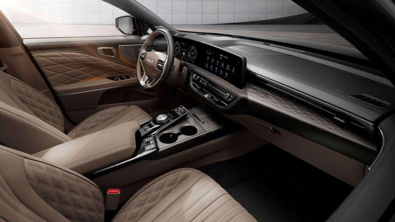 Wielka premiera Kia K8. Luksusowy sedan z nowym designem marki