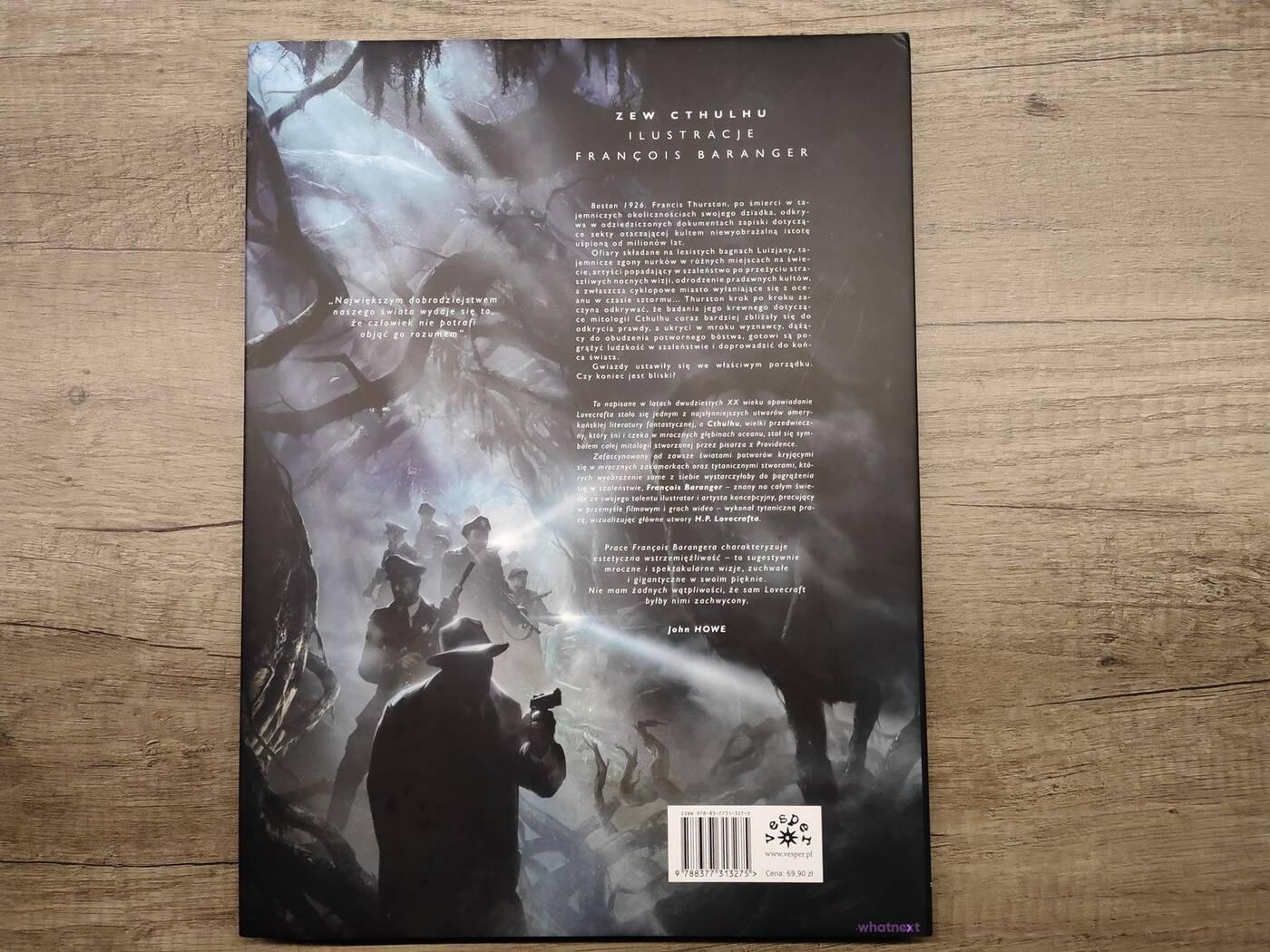 Wolicie czytać książki czy albumy? Swoje wrażenia oceniłem na przykładzie Lovecrafta