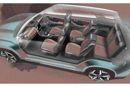 Zwiastun Hyundai Alcazar, Hyundai Alcazar,