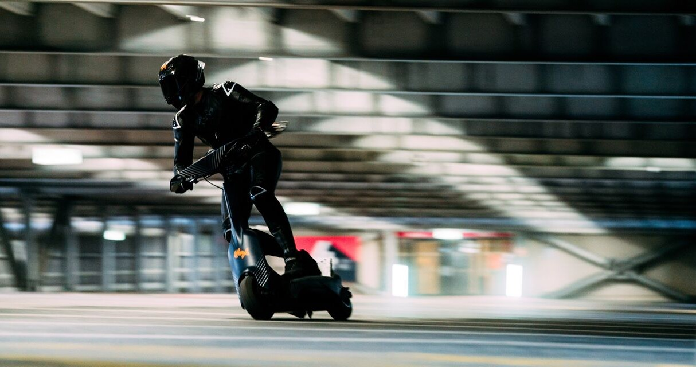 Elektryczna hulajnoga wyścigowa eSkootr S1X, hulajnoga wyścigowa eSkootr S1X, eSkootr S1X, Elektryczna hulajnoga wyścigowa