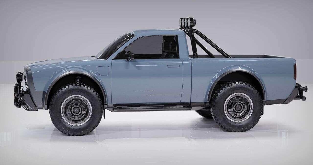 Elektryczny pickup Alpha Wolf łączy klasykę z nowoczesnością