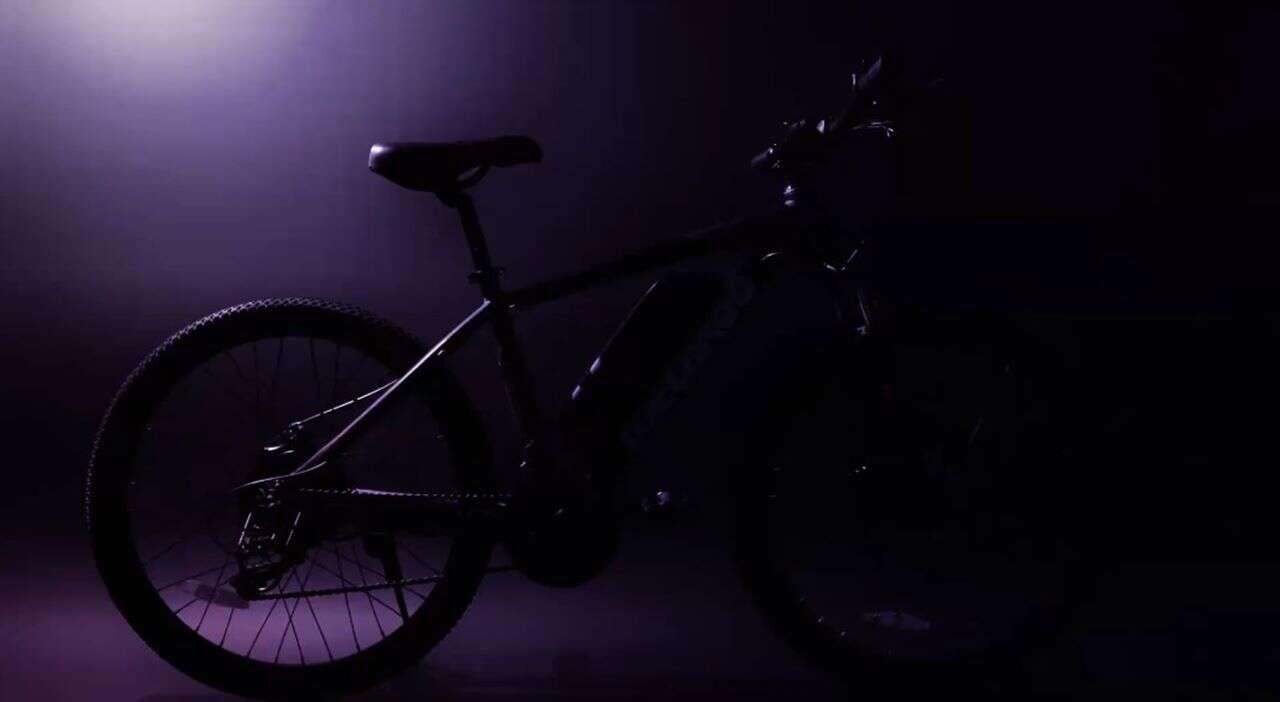 Elektryczny rower Cybertrack Macwheel, Elektryczny rower Cybertrack