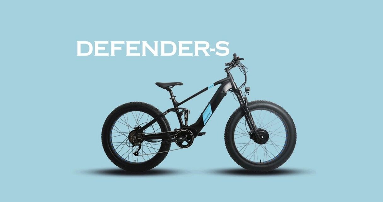 Elektryczny rower Defender S od EUNORAU, Defender S, Defender S Pro