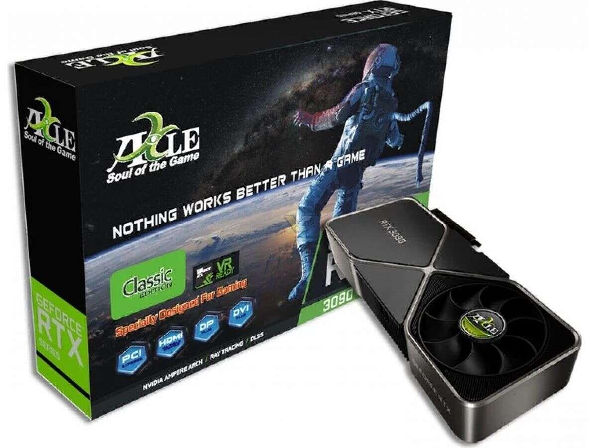 GeForce RTX 3090 Classic od Axle