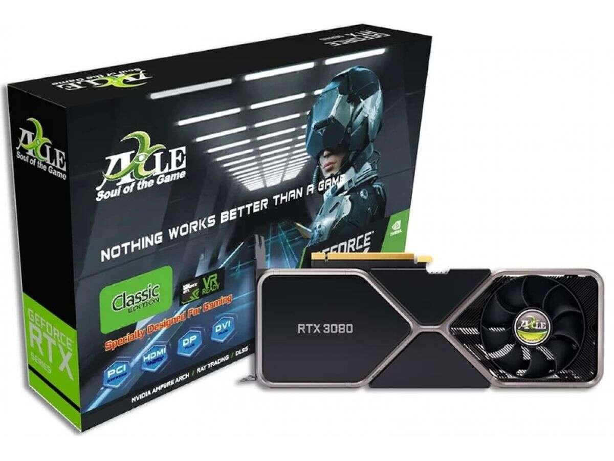 GeForce RTX 3090 Classic od Axle jest wyjątkowy, ale...