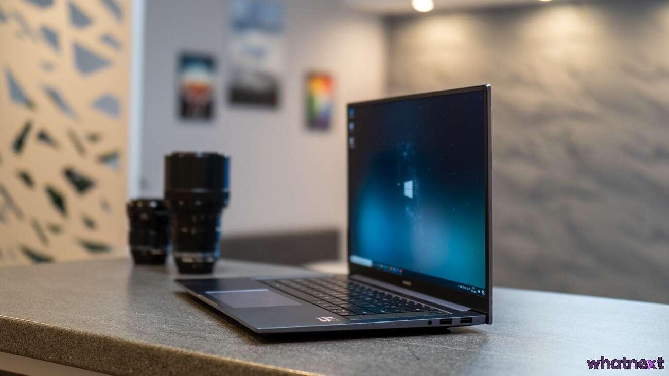 recenzja Huawei MateBook D16