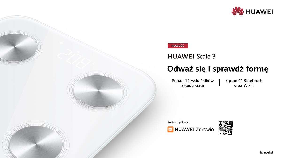 Huawei Scale 3 - nowa inteligentna waga już w sprzedaży