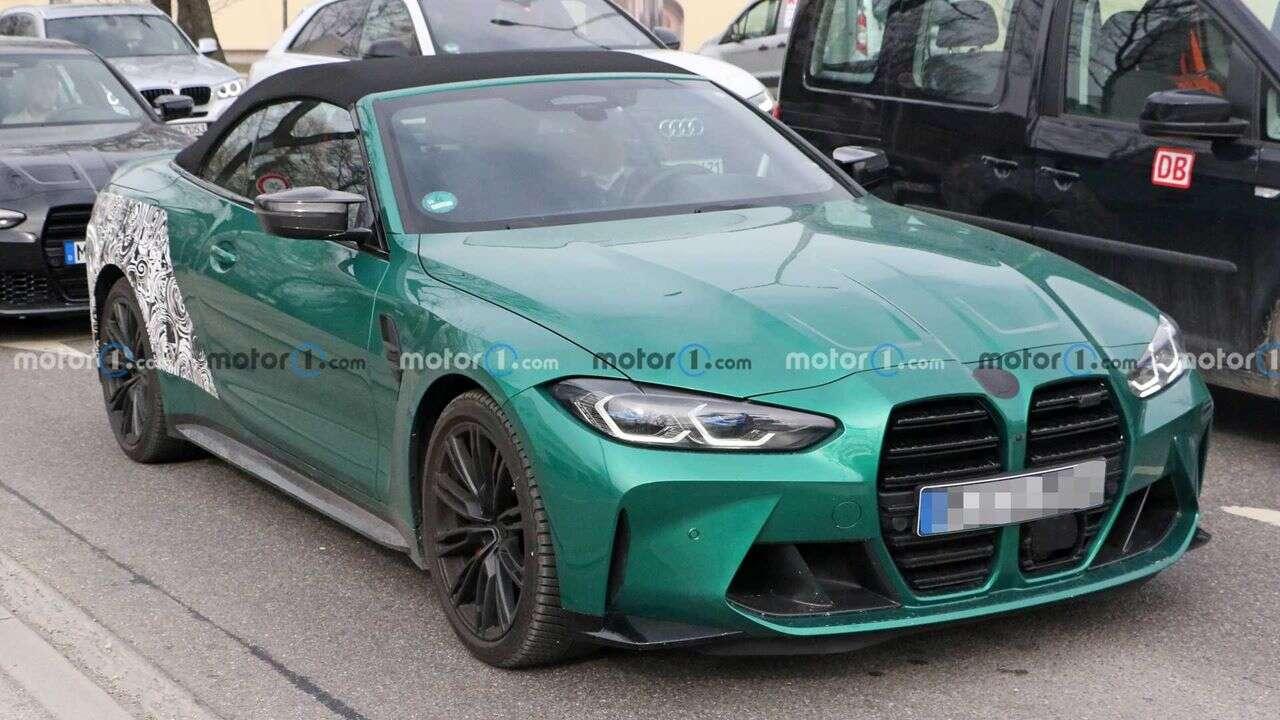 Kabriolet BMW M4 2022 uchwycony w obiektywie