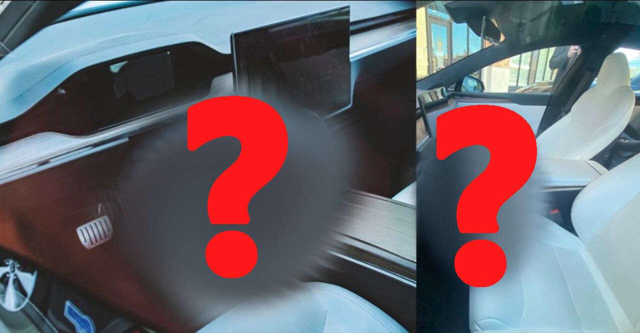 Kontrowersyjna kierownica Tesli, kierownica Tesli, zdjęcia kierownica Tesli