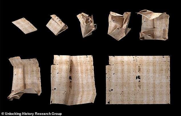 Naukowcy odczytali list z XVII wieku nawet go nie otwierając