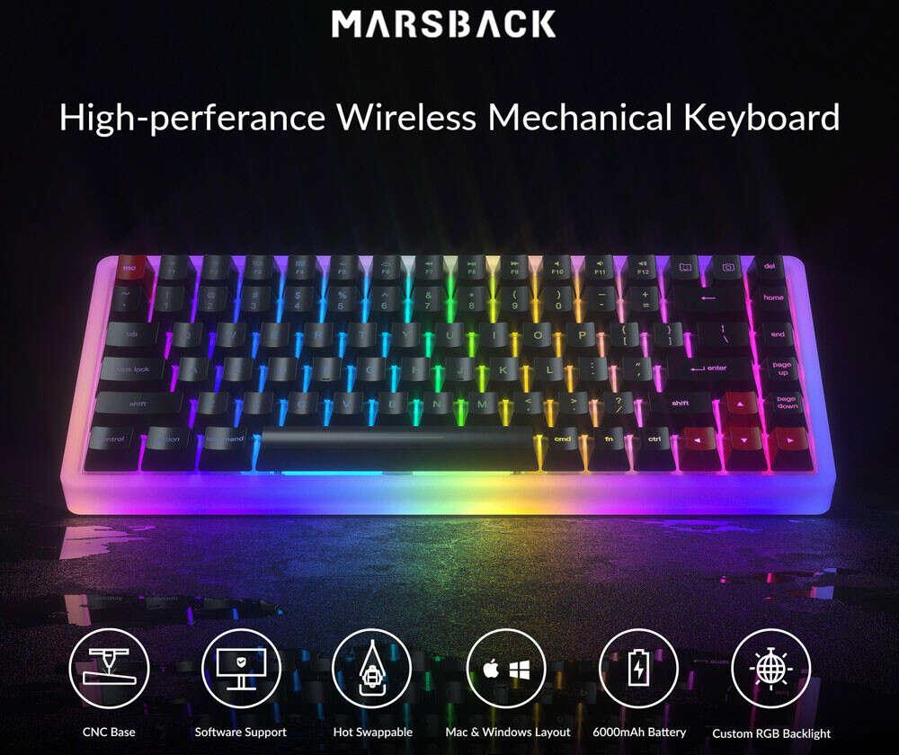 Kickstarter Marsback M1