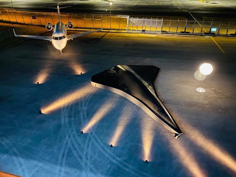 Naddźwiękowy dron bojowy Arrow ujawniony w formie konceptu