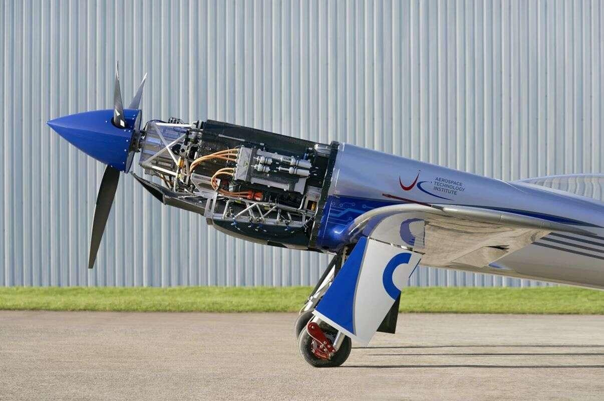 Najszybszy na świecie elektryczny samolot Rolls Royce, elektryczny samolot Rolls Royce